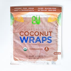 KETO COCONUT WRAPS - CINNAMON